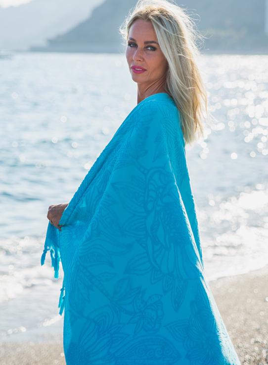 Banner-Fashion4Wellness-hamam-strandlaken-beachtowel-Flowerbomb-TURQUOISE-BLUE-1